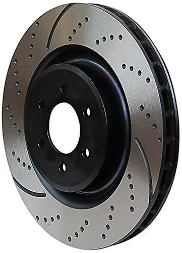 EBC Brakes GD7275 3GD Series Dimpled and Slotted Sport rougeor