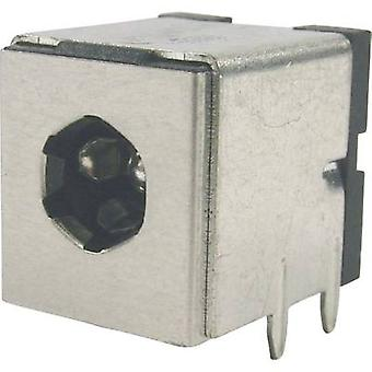 Cliff FC681495 Low power connector Socket, horizontal mount 5.3 mm 2.5 mm 1 pc(s)