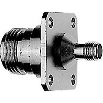Coax adapter N socket - SMA socket Telegärtner J01027B0008 1 pc(s)