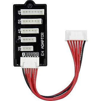 LiPo balancer board Type (chargers): PQ Type (rechargeable batteries): EH Suitable for (no. of batteries): 2 - 6 VOLTCRAFT