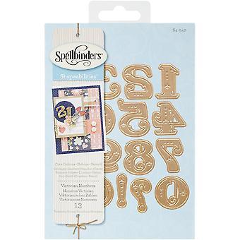 Spellbinders Shapeabilities Dies-Victorian Numbers