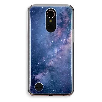 LG K10 (2018) Transparent Case (Soft) - Nebula