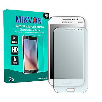 Samsung I8552 Galaxy Win Duos Screen Protector - Mikvon Clear (Retail Package with accessories)