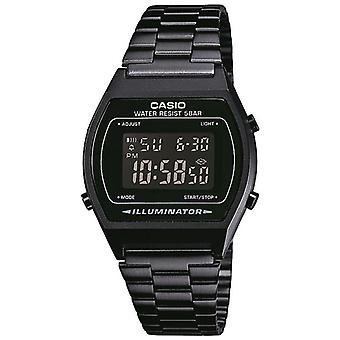 Casio B640WB-1BEF Classic Digital Watches with Stainless Steel Band