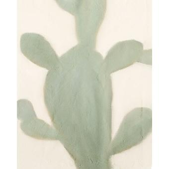 Sage Cactus 2 Poster Print by Allen Kimberly