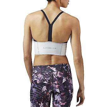 Reebok Womens Studio Les Mills Dance Bralet Sports Bra Crop Top - Black