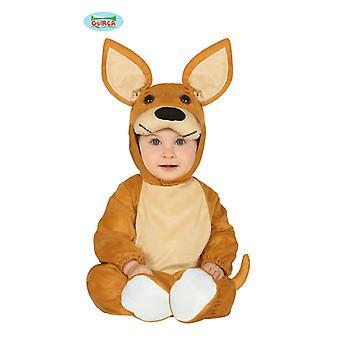 カンガルーの赤ちゃんカンガルー動物衣装子供を衣装します。