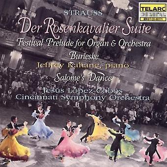 Lopez-Cobos/Cincinnati så - Richard Strauss: Der Rosenkavalier Suite [CD] USA import