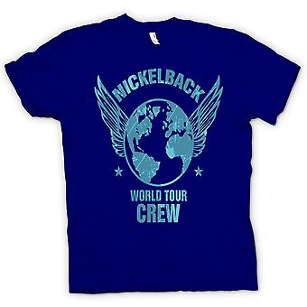 Kinder T-shirt-Nickelback-World-Tour-Crew