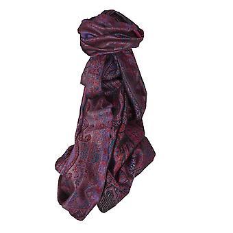 Jamawar Premium Silk stal patroon 3444 door Pashmina & Silk
