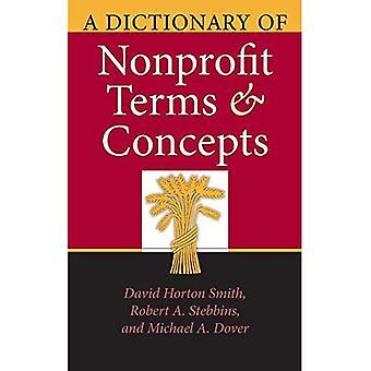 En ordliste Nonprofit og begreper (filantropiske & Nonprofit studier)