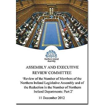 Review of the Number of Members of the Northern Ireland Legislative Assembly and of the Reduction in the Number...