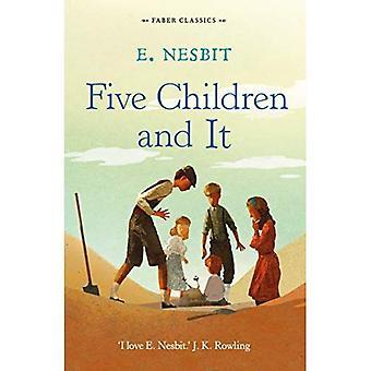 Cinco crianças e ele (Faber infantis clássicos)