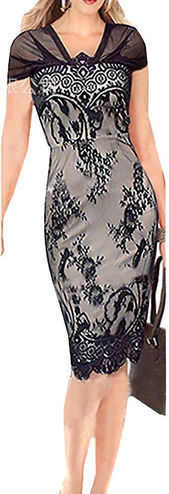 Waooh - kjole kneet delvis gjennomsiktig Berd