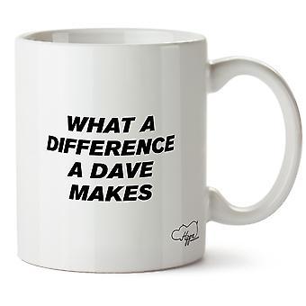 Hippowarehouse какая разница Дэйв делает печатных кружка Кубок керамические 10oz