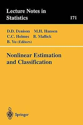 Nonlinear Estimation and Classification by Denison & David D.