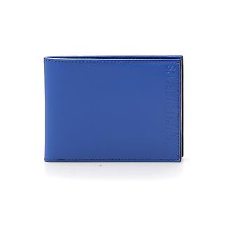Calvin Klein Jeans Blue Leather Wallet