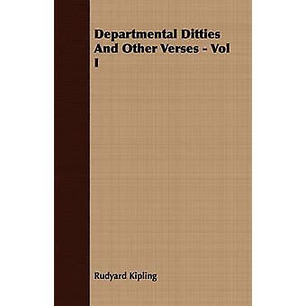 Departmental Ditties and Other Verses  Vol I by Kipling & Rudyard