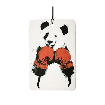 Boxing Panda Car Air Freshener