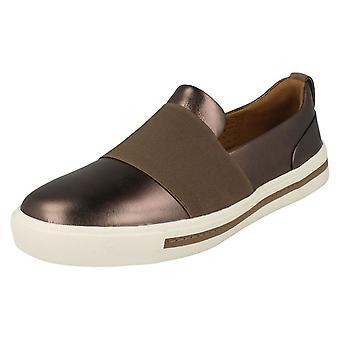 Ladies Clarks Unstructured Slip On Shoes Un Maui Step