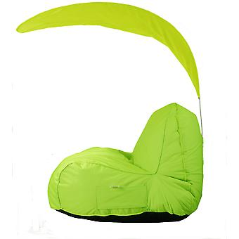 BEAN BAG BEAN BAGS SOFT MODERN ROBUST ILLIMITED INDOOR AND OUTDOOR GREEN