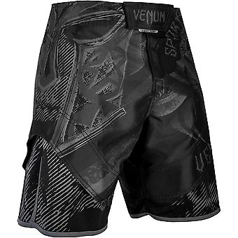 Venum Gladiator 3.0 MMA Fight Shorts - Black/Black