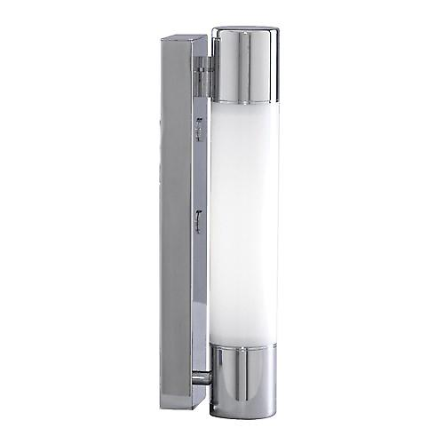 Searchlight LE2208CC Bathroom Lighting Low Energy Wall Light 18W IP44