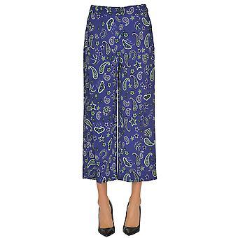 Seventy Blue Viscose Pants