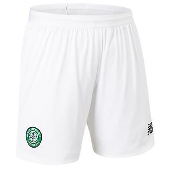 2019-2020 Celtic hjem shorts (hvit)