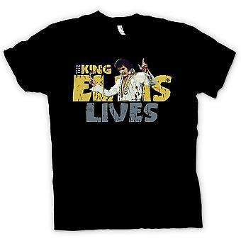 Mens T-shirt - The King - Elvis Lives