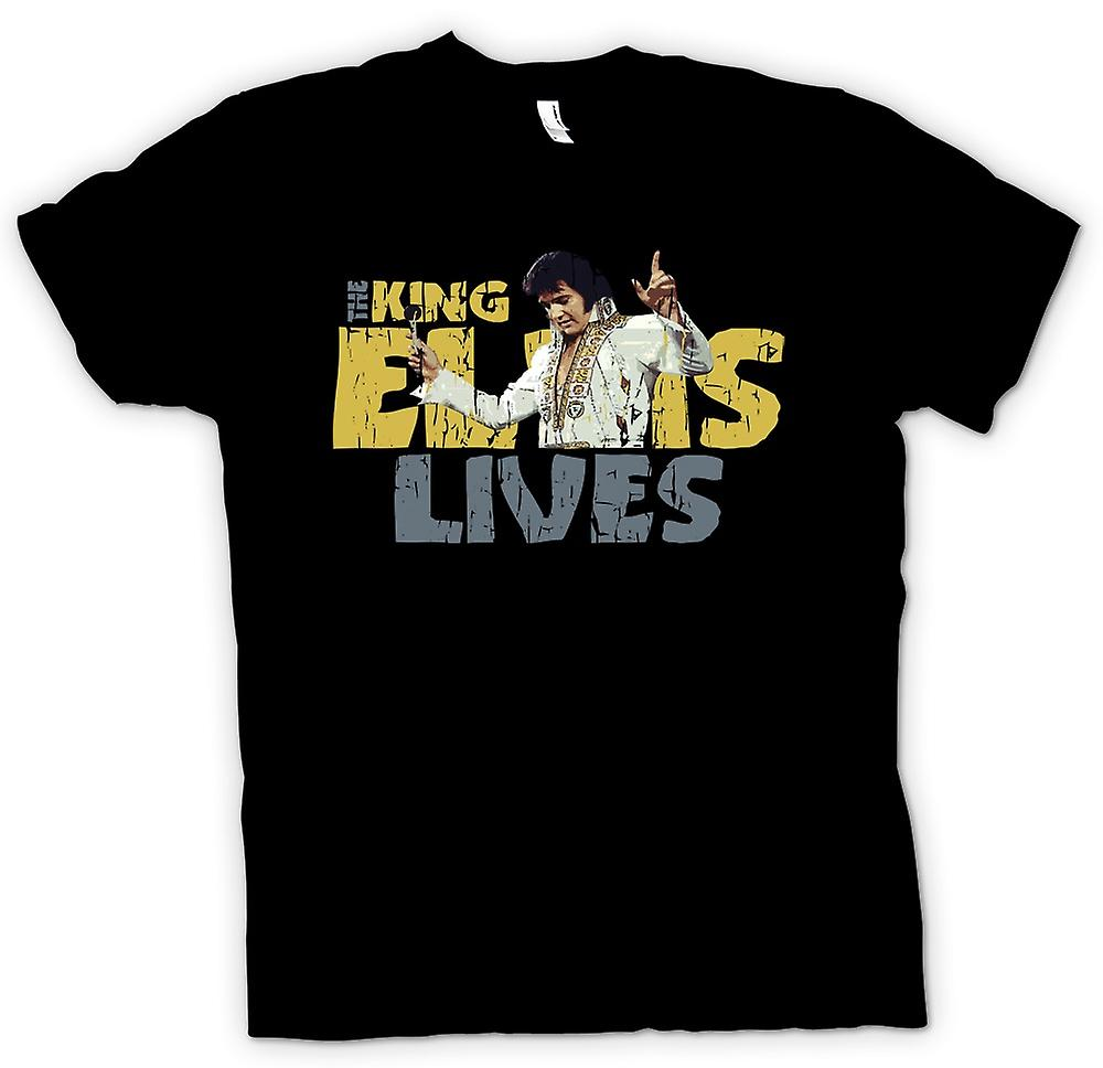 Womens T-shirt - The King - Elvis Lives