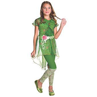 Poison Ivy DC Comic Super Hero supervilão livro semana criança meninas traje
