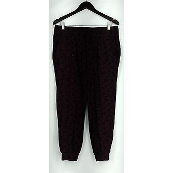 Anybody Petite Lounge Pants, Sleep Shorts MP Loungewear Cozy Knit Pant Red