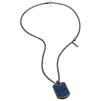 Police Men's Stainless Steel Pendant Necklace PJ.26400PSUN-02