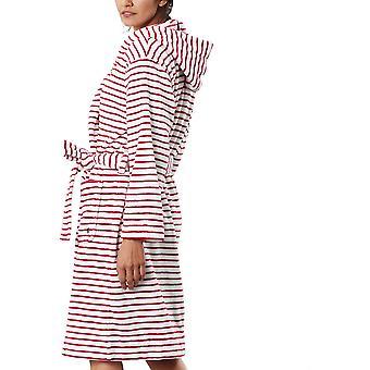 Joules Femmes Rita Super Soft Fleece robe de chambre à capuchon