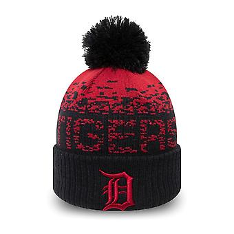 New Era Kinder Wintermütze Bobble Beanie Detroit Tigers