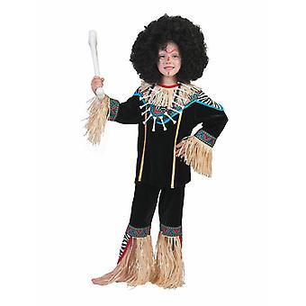 Afrikaner Agu Kimoni Kids Costume Carnaval Native Medicine Vodoo Carnival