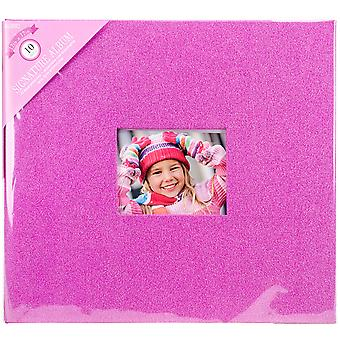 Colorbok paillettes Post lié Album 12 « X 12 »-rose 71873D