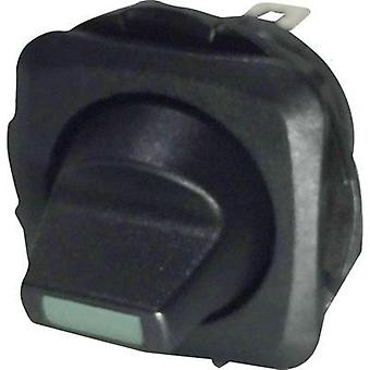 Toggle switch 250 Vac 10 A 1 x Off/On SCI R13-135LP-02 GREEN latch 1 pc(s)