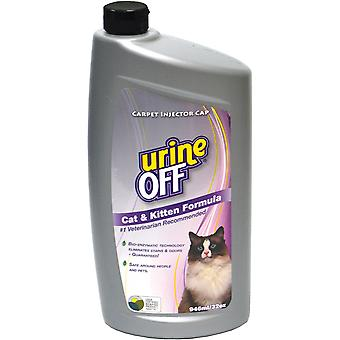 Urine Off Cat & Kitten Formula W/Carpet Applicator Cap 32oz- PT6053