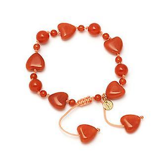 Lola Rose Seraphina armbånd brand Orange magnesit