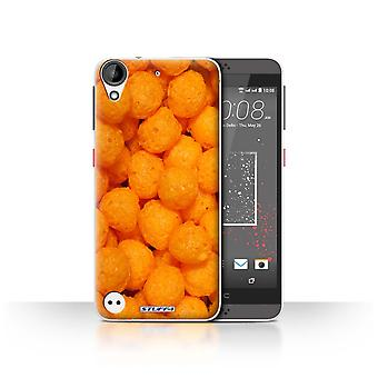 STUFF4 Case/Cover for HTC Desire 530/Cheese Puffs/Snacks