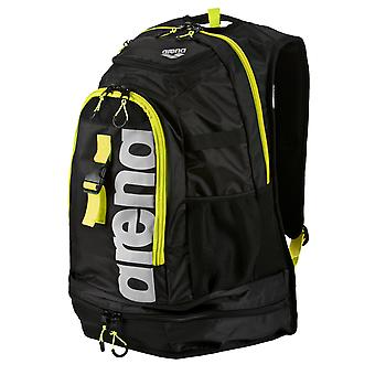 Arena Fastpack 2.1 Swim Bag - Black/Yellow/Silver - NEW 2017