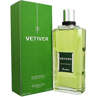 Vetiver for Men by Guerlain 6.8 oz EDT Spray
