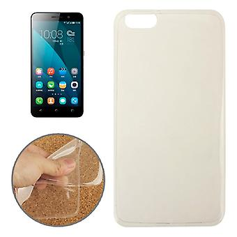 Ultra thin cellphone cover cases TPU for mobile Huawei honor 4 X transparent clear