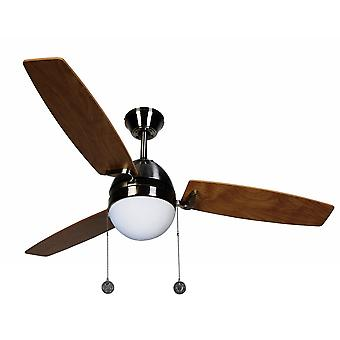 Ceiling Fan Boreas Chrome brushed 122 cm / 48