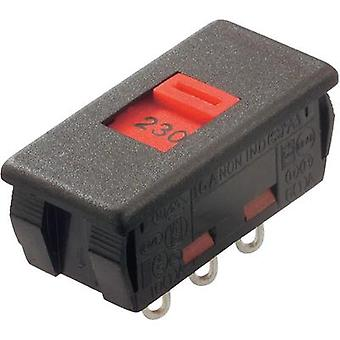 Arcolectric Slide switches Black, Red Solder connection 250 Vac 6.3 A