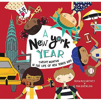 A New York Year by Tania McCartney & Tina Snerling