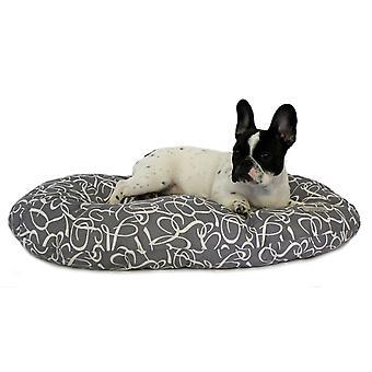 Nocturne Cushion Grey Small 61cm
