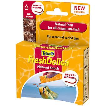 Tetra Fresh Delica Bloodworms 16 Sachets (Pack of 6)